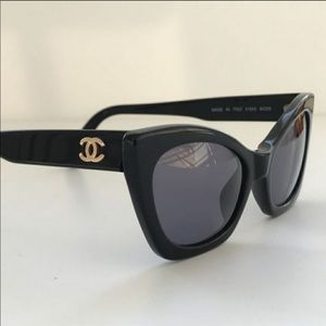 Vintage Chanel Cat Eye Sunglasses • RARE